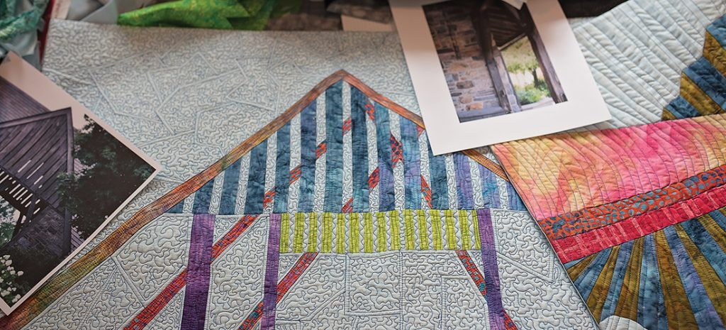 Foyer Window Quilt : Story of a house o henry magazine